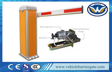 China Bluetooth RFID Car Park Barriers , Roadway security barriers and gates System factory