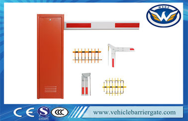China Vehicle Barrier Arm Gate , Security Boom Barriers For Parking Lot Management System distributor