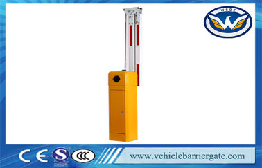 China Automatic Car automatic parking barriers Gate With LED Arms , 5 Million Operation Time factory