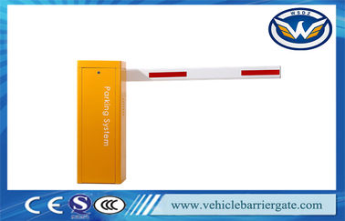 China Cold Rolled Plate Automatic Barrier Gate Heavy Duty Strong Structure For Parking Lot factory