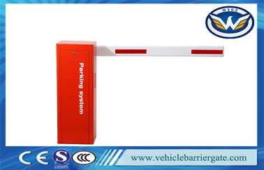 China Wonsun 100% Pure Automatic  Barrier Gate With Straight Boom Parking System factory