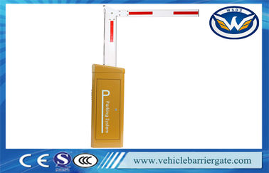 China Fast Speed Vehicle Barrier System PSMS Servo For Car Parking With Fencing Boom factory