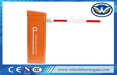 China Access Control Fully Automatic Car Parking Barrier Gate 6 Meter Straight Boom factory