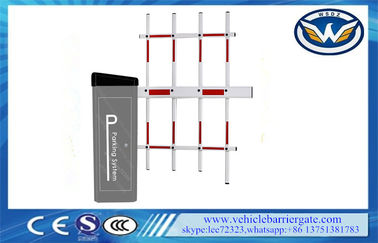 China High Speed 100% Duty Cycle Toll Parking Lot Security Gates With Auto Reverse factory