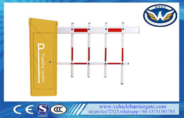 China Anti Collision Fast Running Time Toll Barrier Gate With Solar Power Supply factory