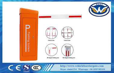 China DC24V Servo Motor Vehicle Barrier Gate For Parking Management System distributor