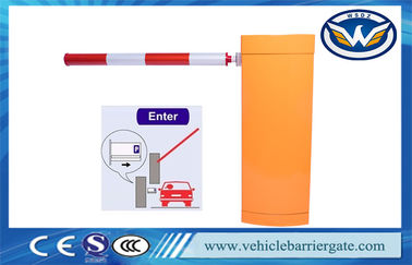 China Automatic Vehicle Barrier Gate Car Parking Barriers For Parking Lot Sensor System distributor