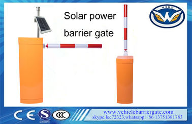 Solar LED Arm Barriers Automatic Barrier Gate 6 Meters Crash Proof