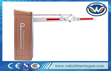 China 6M Un - Blocked Automatic Vehicle Barrier  Electrical Integrated With Fast Speed factory