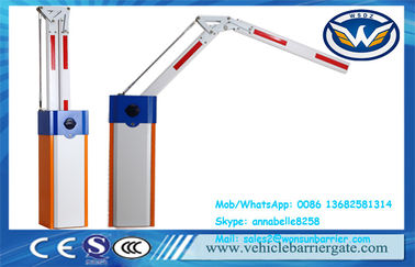 China Swing Out Automatic Barrier Gate , Flexible Boom Auto Barrier Gate System factory