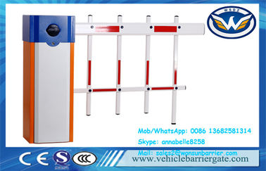 China Intelligent  3 Fencing Automatic Vehicle Barrier For Road Traffic Boom Parking Lots factory