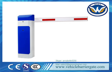 China Car Parking Automatic Barrier Gate AC220/110V 2mm Cold Rolled Steel Plate Material factory
