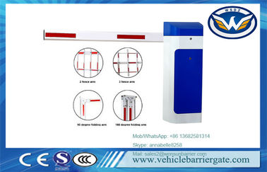 China Traffic Automatic Parking BarriersToll Gates Frequency Convertion Motor 50/60HZ factory