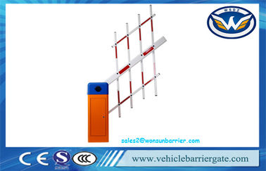 China Vehicle Access Control Automatic Barrier Gate , Remote Control car park access barriers factory