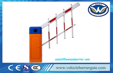 China Two Fencing Parking Automatic Barrier Gate Entrance Security Retractable For Access Control factory