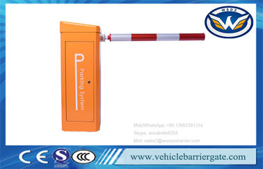 China Automatic Vehicle Barrier Gate Boom Parking Barrier 24V DC PMSM Brushless Servo Motor factory