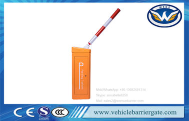 China IP65 Parking Vehicle Barrier Gate Automatic Adjustable Speed Anti Collision Protection factory