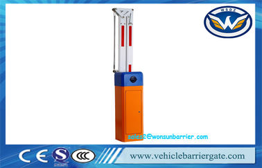 China IP54 Orange Automatic Barrier Gate 2mm Cold Rolled Steel Plate For Vehicle Control factory