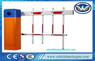 China Blue Color Automatic Vehicle Barrier Remote Controlled For Car Parking System factory