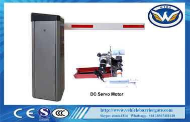China Speed Adjustable Car Parking Barriers With 24V Brushless Servo Motor factory