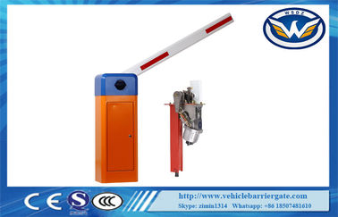 China Roadway Safety Boom Barrier Gate , Parking Lot Barriers With Boom Bracket distributor