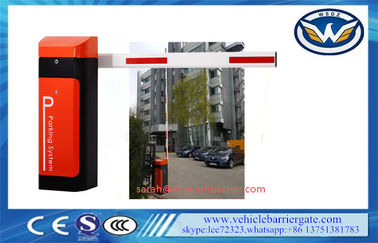China 80W arm automatic barrier gate Operator With AC Reliable Electro Mechanical Drive factory