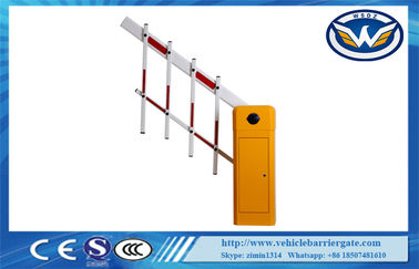 China Car Parking Automatic Barrier Gate Remote Controlled Boom Backtrack Function factory