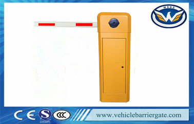 China Remote Control Push Button barrier gate arm / auto barrier gate system AC Motor factory