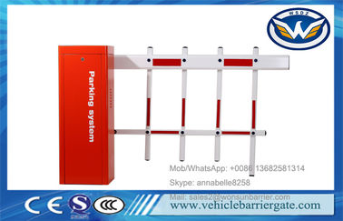 China Vehicle Access DZ-130 Car Parking Lot Gate Systems Barrier Max 6M Arm Length factory