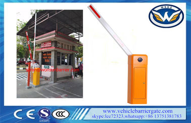 China Thermal Protection Automatic Boom Barrier 60HZ / 50HZ 120W Motor 8 Meters Boom distributor