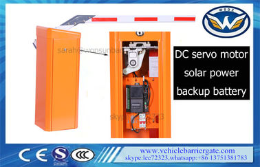 China Backup Battery Servo Parking Boom Gates IP54 Aluminum 1.5mm Arm Thickness distributor