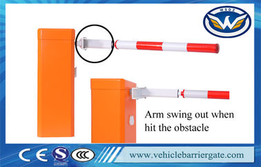 China DC12V Car Park Boom Gates , Boom Barrier System Brushless DC Motor For Malaysia distributor