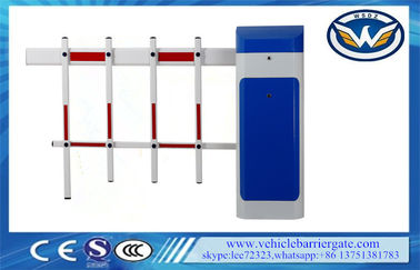China LED Loop Detector Automatic Security Boom Gate / Barrier Fence Arm Auto Close distributor