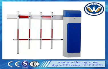 China Highway Parking Barrier Gate , LED Flashing Signal Light car park gates distributor