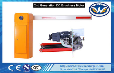 China Price for DC Brushless Automatic Car Park Barrier System Arm Direction Changed distributor