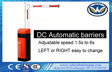DC 1.5s-6s Speed Range Automatic Boom Barrier Folding Arm Telescopic Long Lifespan