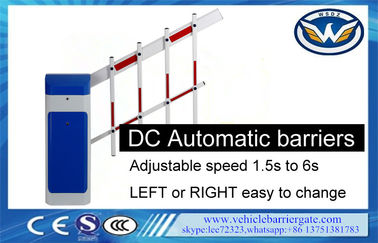 China L/R Changeable Automatic Barrier Gate Fence Arm 1m-6m Length Remote Control factory