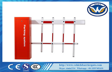 China AC220V Motor Remote Control Car Parking Barrier Gate For Toll System , CE / ISO distributor