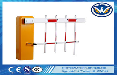 China Heavy Duty Parking Barrier Gate Fence Boom Arms Design 1 Year Warranty distributor
