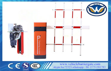 China Access Control Automatic Boom Barrier / Car Park Boom Gates Fencing factory