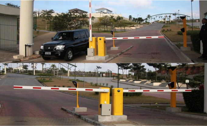 High Speed Vehicle Control Barrier Toll System With Motor Cooling Fan