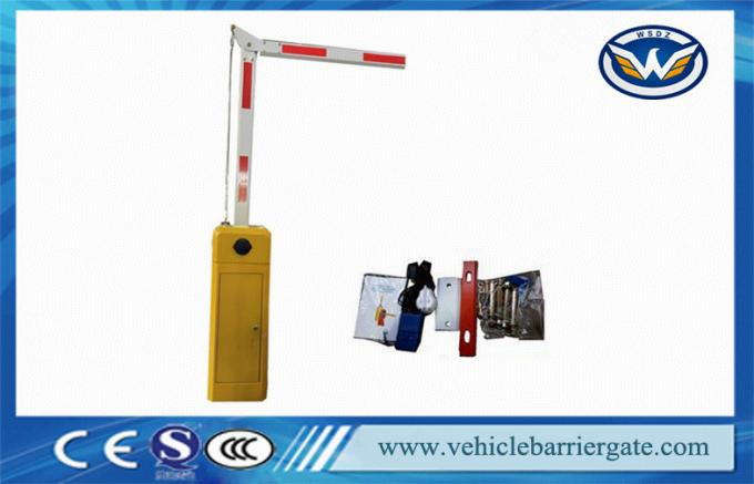 Parking Lot Barrier Gate Operator / traffic gate arms 90 Degree Folding