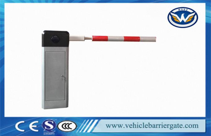 Computer Control Automatic road barrier gate With Loop Detector , Round Boom