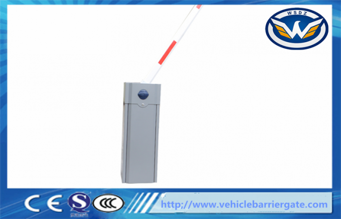 Grey Color automatic barrier gate / car parking barriers Operator Manual Release