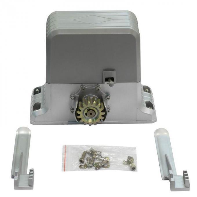 Ac system automatic sliding gate motor garage door opener for Sliding gate motor kit