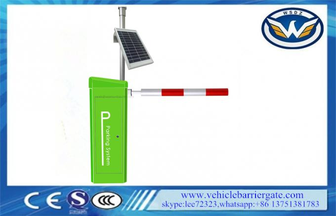 Solar Safety Photocell Vehicle Barrier Gate Arm Automatic Barrier Boom Gate 0