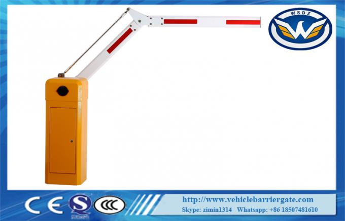 Automatic Car Parking Barrier Gate 110V Power Supply For Vehicle Access Control