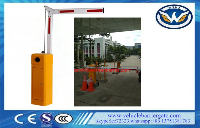 High Accurate Traffic Barrier Gate Fold Arm 120 Watt For Underground Parking System