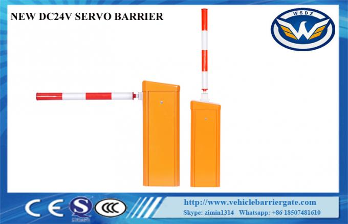 Traffic Access Control Intelligent Barrier And Gates Solar Power Arm High Sensitivity