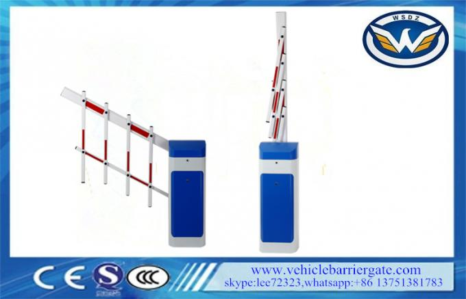 Anti Collision parking lot barriers For Shopping Mall , 6 Seconds Folding Arm